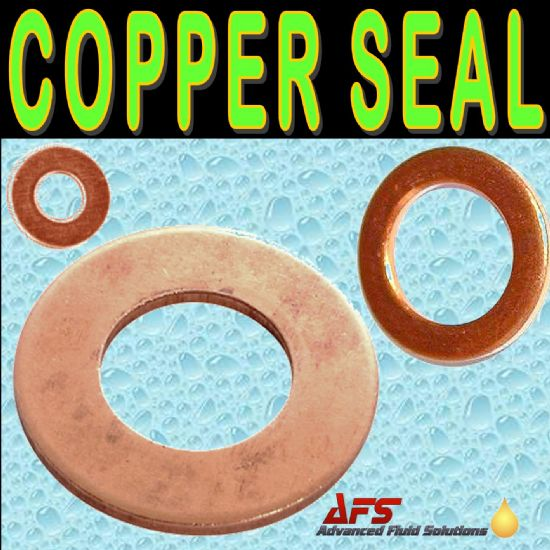 Metric Copper Sealing Washers DIN 7603
